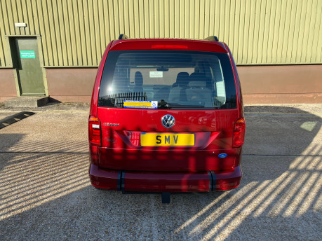 Volkswagen Caddy Life 2020 C20 LIFE TDI passenger upfront & scooter accessible vehicle WAV 4