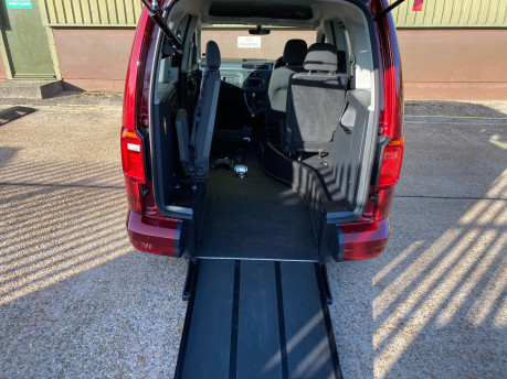Volkswagen Caddy Life 2020 C20 LIFE TDI passenger upfront & scooter accessible vehicle WAV 7