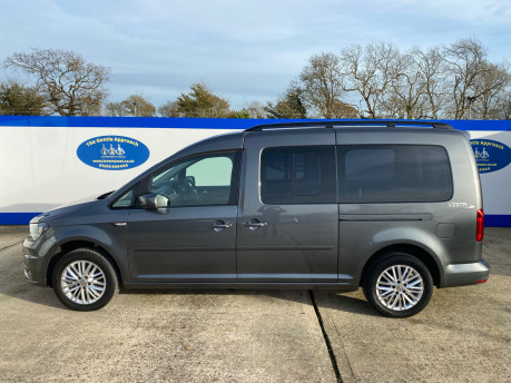Volkswagen Caddy Maxi 2019 C20 LIFE TDI Wheelchair & scooter accessible vehicle WAV 29