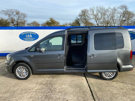 Volkswagen Caddy Maxi 2019 C20 LIFE TDI Wheelchair & scooter accessible vehicle WAV 31