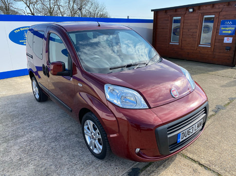 Fiat Qubo 2013 MYLIFE wheelchair & scooter accessible vehicle WAV