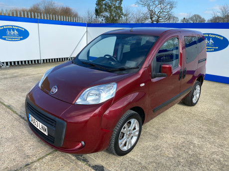 Fiat Qubo 2013 MYLIFE wheelchair & scooter accessible vehicle WAV 4