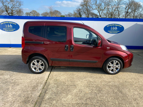 Fiat Qubo 2013 MYLIFE wheelchair & scooter accessible vehicle WAV 27