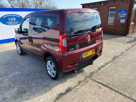 Fiat Qubo 2013 MYLIFE wheelchair & scooter accessible vehicle WAV 26