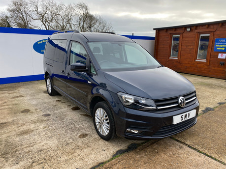 Volkswagen Caddy Maxi 2016 C20 LIFE TDI wheelchair & scooter accessible vehicle WAV