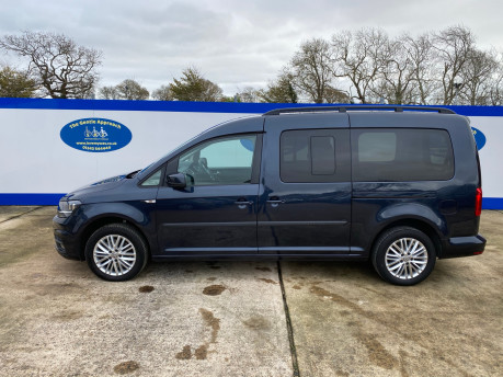 Volkswagen Caddy Maxi 2016 C20 LIFE TDI wheelchair & scooter accessible vehicle WAV 26