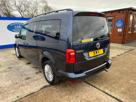 Volkswagen Caddy Maxi 2016 C20 LIFE TDI wheelchair & scooter accessible vehicle WAV 25