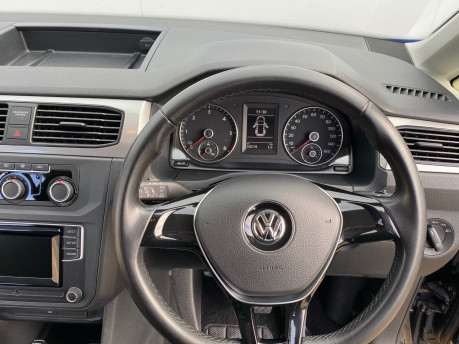 Volkswagen Caddy Maxi 2016 C20 LIFE TDI wheelchair & scooter accessible vehicle WAV 18