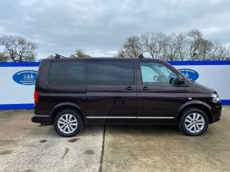 Volkswagen Caravelle 2015 EXEC TDI BLUEMOTION TECH wheelchair & scooter accessible vehicle WAV 28
