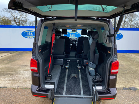 Volkswagen Caravelle 2015 EXEC TDI BLUEMOTION TECH wheelchair & scooter accessible vehicle WAV 6