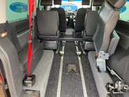 Volkswagen Caravelle 2015 EXEC TDI BLUEMOTION TECH wheelchair & scooter accessible vehicle WAV 9