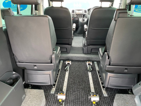 Volkswagen Caravelle 2015 EXEC TDI BLUEMOTION TECH wheelchair & scooter accessible vehicle WAV 10