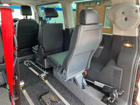 Volkswagen Caravelle 2015 EXEC TDI BLUEMOTION TECH wheelchair & scooter accessible vehicle WAV 17