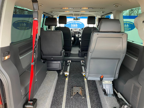 Volkswagen Caravelle 2015 EXEC TDI BLUEMOTION TECH wheelchair & scooter accessible vehicle WAV 18