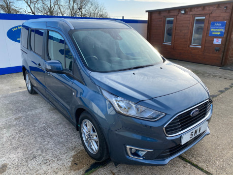 Ford Grand Tourneo Connect 2019 TITANIUM TDCI wheelchair & scooter accessible vehicle WAV 1