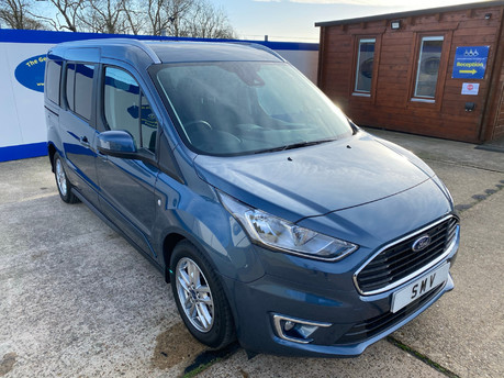 Ford Grand Tourneo Connect 2019 TITANIUM TDCI wheelchair & scooter accessible vehicle WAV