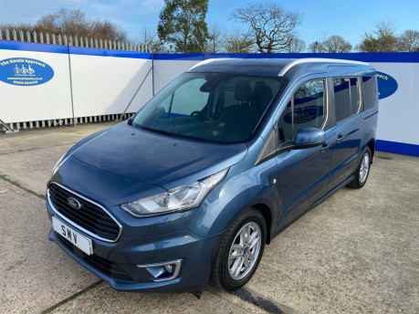 Ford Grand Tourneo Connect 2019 TITANIUM TDCI wheelchair & scooter accessible vehicle WAV 3