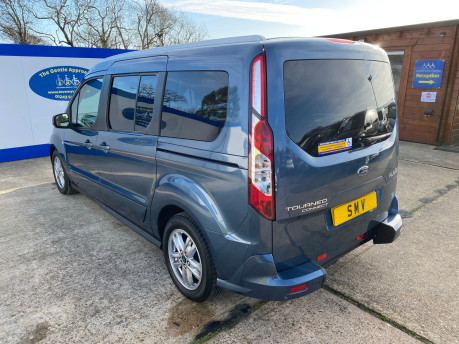 Ford Grand Tourneo Connect 2019 TITANIUM TDCI wheelchair & scooter accessible vehicle WAV 29