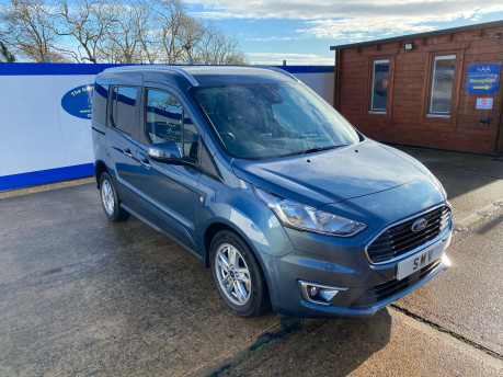 Ford Tourneo Connect 2020 TITANIUM TDCI wheelchair & scooter accessible vehicle WAV 1