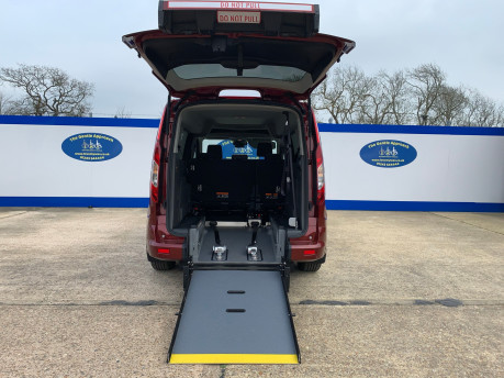 Ford Grand Tourneo Connect 2019 TITANIUM TDCI wheelchair & scooter accessible vehicle WAV 8