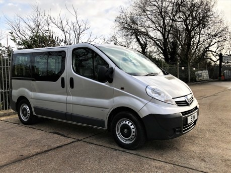 Vauxhall Vivaro 2900 COMBI CDTI TECSHIFT SWB Wheelchair Accessible Vehicle