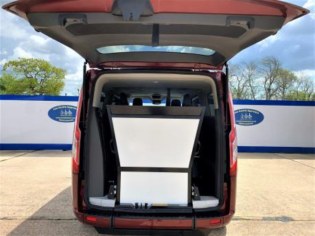 Ford Tourneo Custom 320 TITANIUM X ECOBLUE wheelchair & scooter accessible vehicle WAV 6