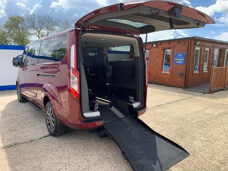 Ford Tourneo Custom 320 TITANIUM X ECOBLUE wheelchair & scooter accessible vehicle WAV