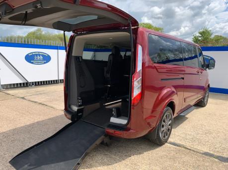 Ford Tourneo Custom 320 TITANIUM X ECOBLUE wheelchair & scooter accessible vehicle WAV 40