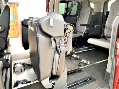Ford Tourneo Custom 320 TITANIUM X ECOBLUE wheelchair & scooter accessible vehicle WAV 30
