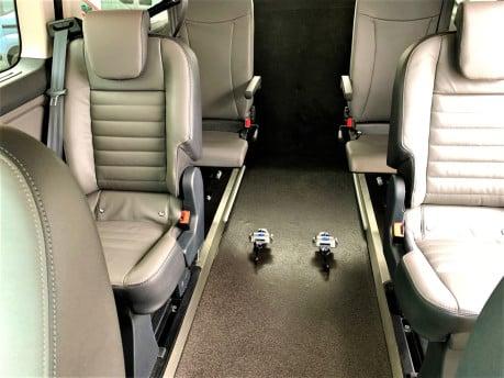 Ford Tourneo Custom 320 TITANIUM X ECOBLUE wheelchair & scooter accessible vehicle WAV 15