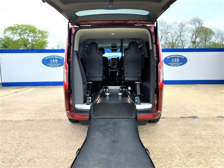 Ford Tourneo Custom 320 TITANIUM X ECOBLUE wheelchair & scooter accessible vehicle WAV 7
