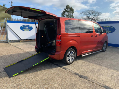 Peugeot Traveller 2019 BLUEHDI S/S ALLURE STD Wheelchair and scooter accessible vehicle WAV 25