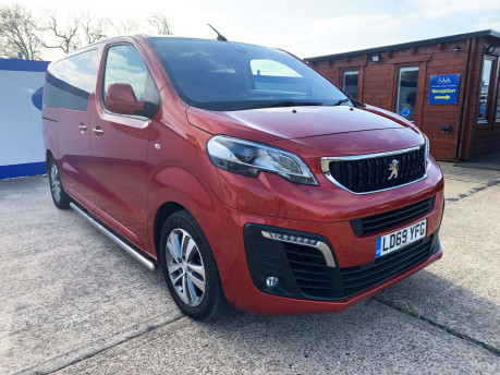 Peugeot Traveller 2019 BLUEHDI S/S ALLURE STD Wheelchair and scooter accessible vehicle WAV 4