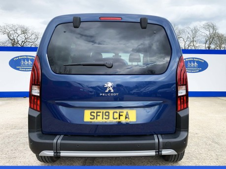 Peugeot Rifter BLUEHDI ALLURE wheelchair & scooter accessible vehicle WAV 5