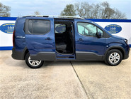 Peugeot Rifter BLUEHDI S/S ALLURE wheelchair & scooter accessible vehicle WAV 21