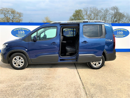 Peugeot Rifter BLUEHDI S/S ALLURE wheelchair & scooter accessible vehicle WAV 23