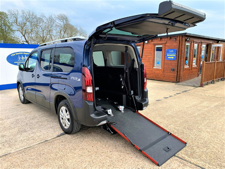 Peugeot Rifter 2020 BLUEHDI S/S ALLURE wheelchair & scooter accessible vehicle WAV