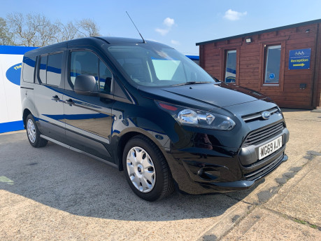 Ford Grand Tourneo Connect 2019 ZETEC TDCI wheelchair & scooter accessible vehicle WAV 4