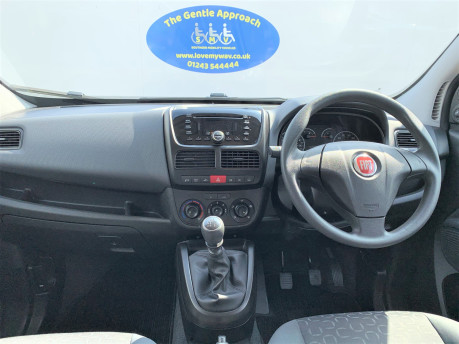 Fiat Doblo 2012 MYLIFE wheelchair & scooter accessible vehicle WAV 9