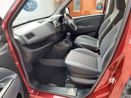 Fiat Doblo 2012 MYLIFE wheelchair & scooter accessible vehicle WAV 10