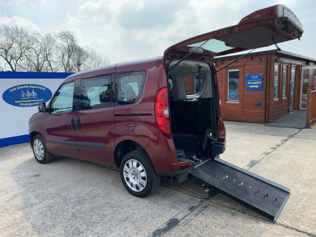 Fiat Doblo 2012 MYLIFE wheelchair & scooter accessible vehicle WAV 1