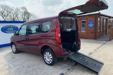 Fiat Doblo 2012 MYLIFE wheelchair & scooter accessible vehicle WAV