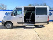 Renault Master 2018 SL28 BUSINESS DCI P/V QUICKSHIFT wheelchair & scooter accessible WAV 11