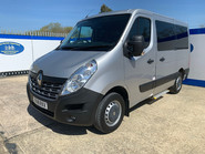 Renault Master 2018 SL28 BUSINESS DCI P/V QUICKSHIFT wheelchair & scooter accessible WAV 2