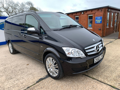 Mercedes-Benz Viano 2010 122 CDI BLUEEFFICENCY AMBIENTE wheelchair & scooter accessible vehicle 2