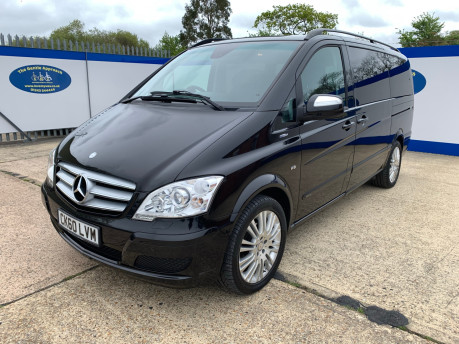 Mercedes-Benz Viano 2010 122 CDI BLUEEFFICENCY AMBIENTE wheelchair & scooter accessible vehicle 4