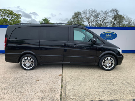Mercedes-Benz Viano 2010 122 CDI BLUEEFFICENCY AMBIENTE wheelchair & scooter accessible vehicle 30