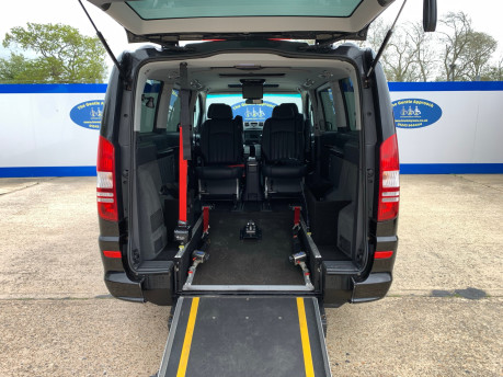 Mercedes-Benz Viano 2010 122 CDI BLUEEFFICENCY AMBIENTE wheelchair & scooter accessible vehicle 7