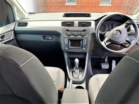 Volkswagen Caddy Life 2016 C20 LIFE TDI upfront wheelchair & scooter accessible vehicle WAV 11