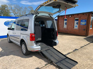 Volkswagen Caddy Life 2016 C20 LIFE TDI upfront wheelchair & scooter accessible vehicle WAV 1
